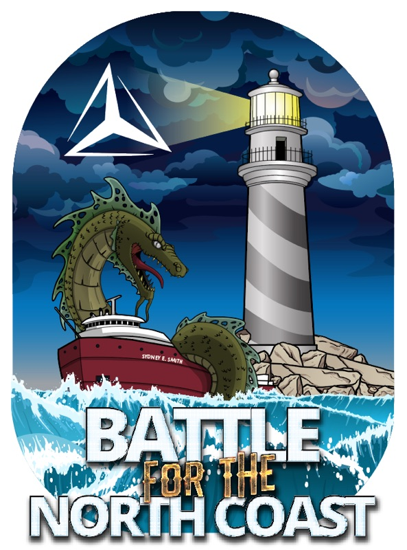 Battle for the North Coast logo